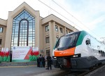 Электропоезд бизнес-класса InterCity начал курсировать между Гомелем и Минском